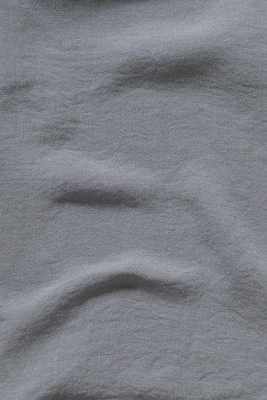Linge Particulier Japanese apron linen - adult blue grey