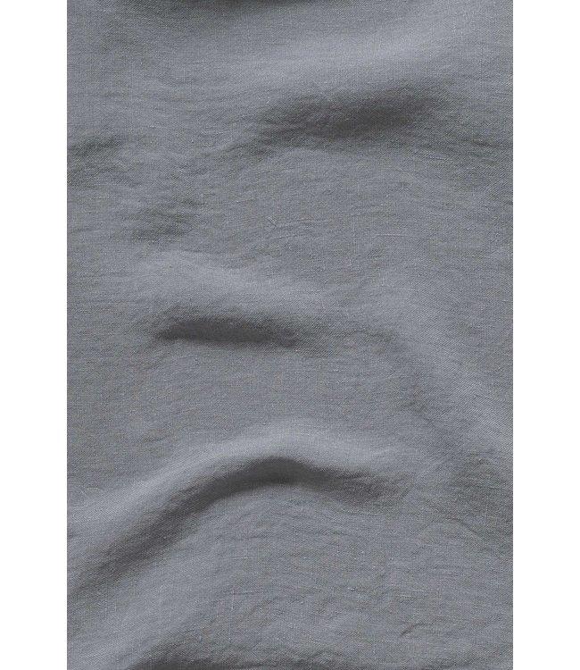 Pillow case linen - blue grey