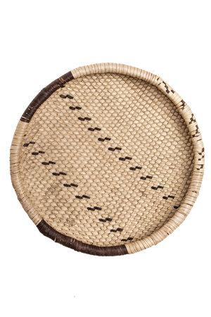 Palm leaf basket - Ø31-35cm