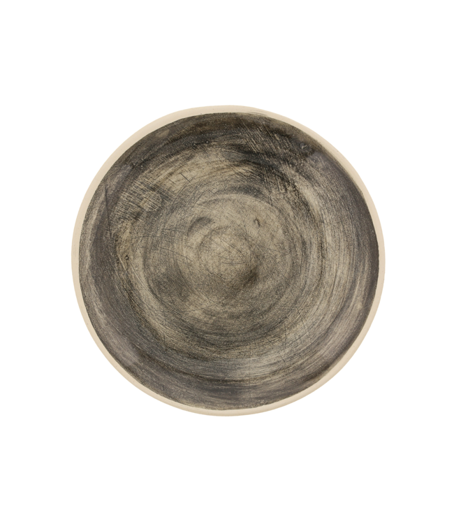 Wonki Ware Small side plate -  plain