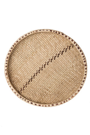 Palm leaf basket - Ø41-45cm