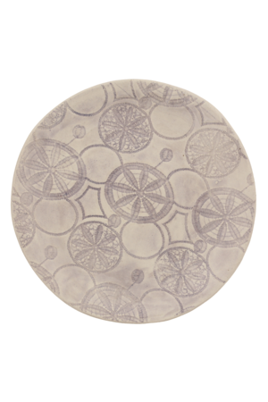 Wonki Ware Small side plate - pattern