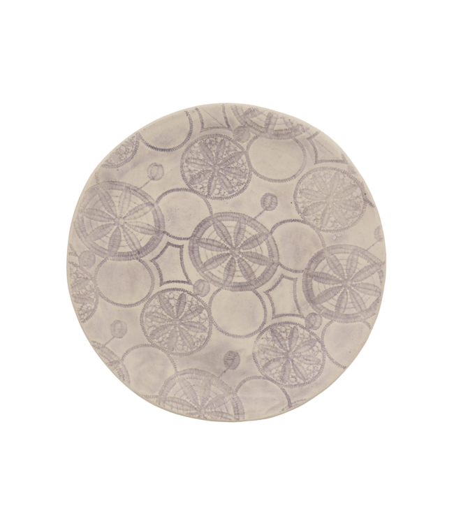 Wonki Ware Small side plate - pattern
