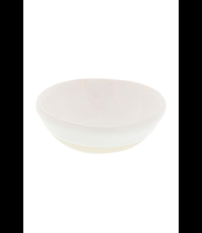Salt dish round small - plain