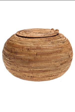Ata basket with lid