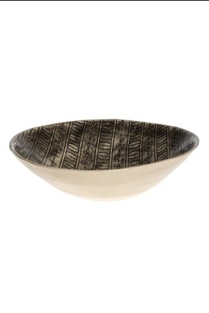 Wonki Ware Salad bowl L - pattern