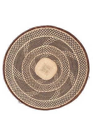 Binga mand bruine rand Ø51-55cm