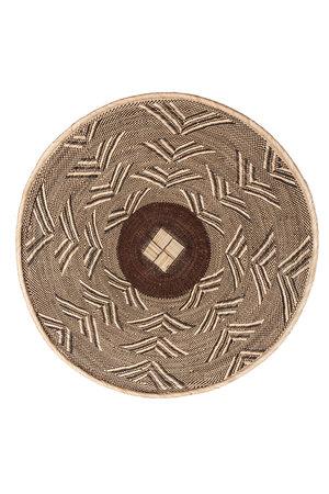 Binga basket white border Ø61-70cm