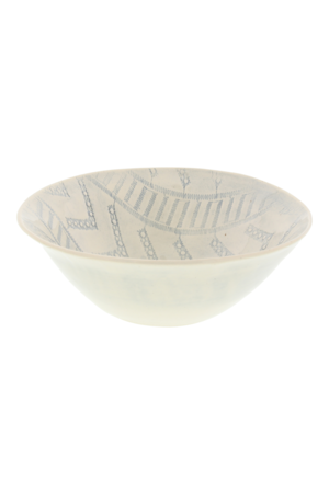 Wonki Ware Soup bowl - pattern