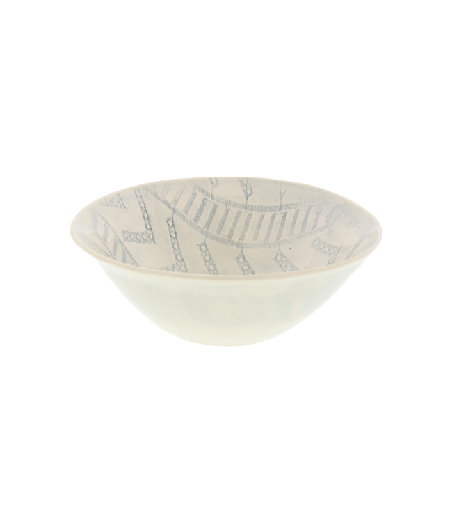 Wonki Ware Soup bowl - pattern