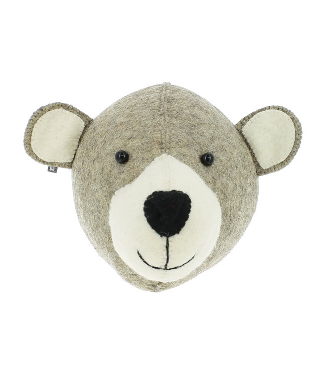 Animal head semi - mummy bear