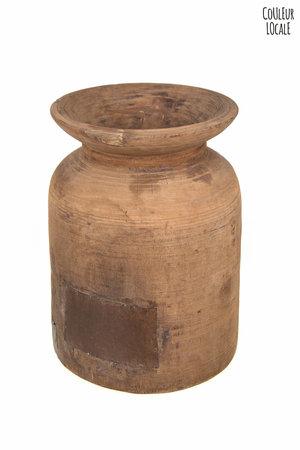 Houten waterkruik