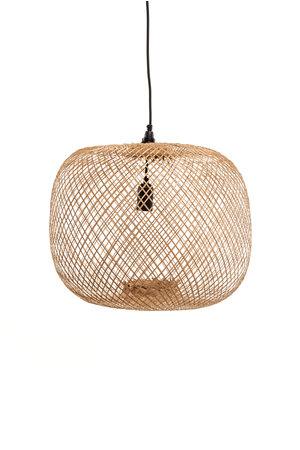 Bamboo lamp round