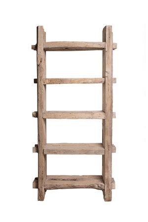 Robust rack, weathered elm