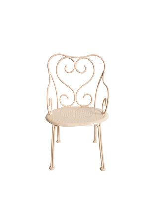 Maileg Romantic chair, mini - powder
