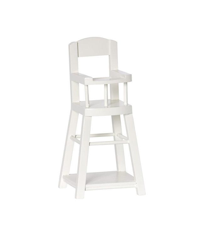 Maileg High chair for micro, offwhite