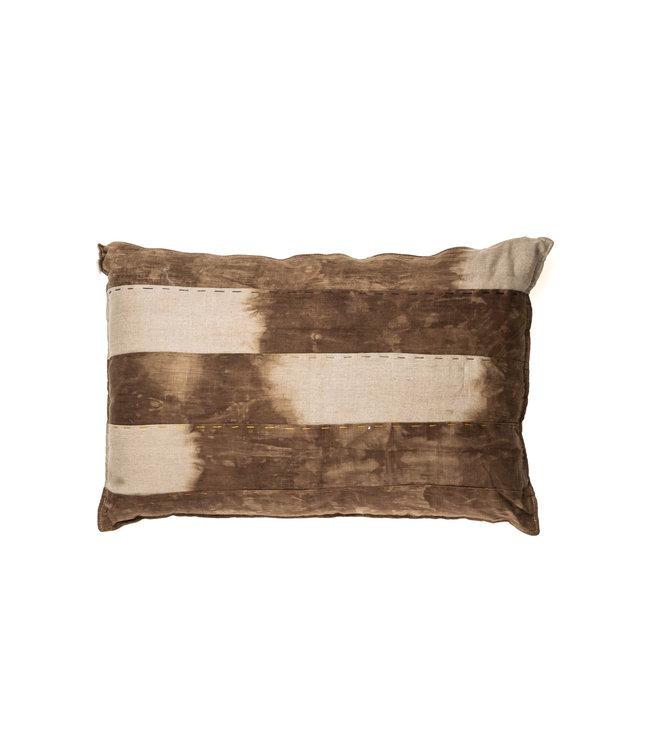Linen Cushion - Omb chocolat