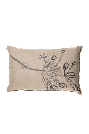 Linen Cushion - branches