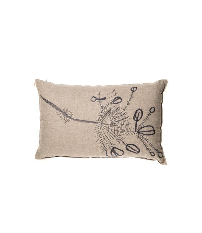 Linen Cushion - branches