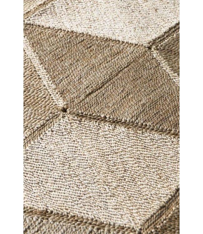 Jute rug 'Sunda' natural
