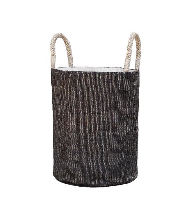 Basket 'Boda' - charcoal