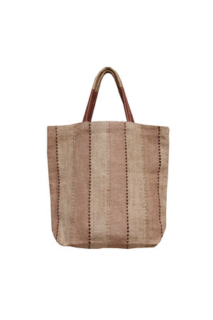 The Dharma Door Jute shopper - clay