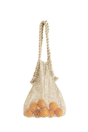 The Dharma Door Jumbo hemp string bag - natural