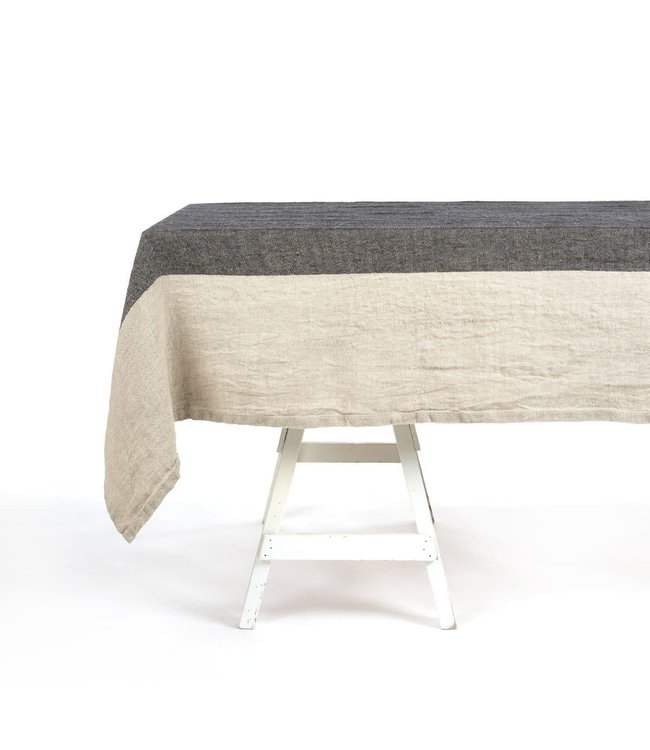 Libeco Thompson tablecloth - herringbone