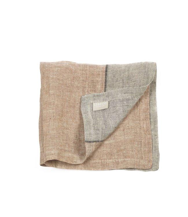 Feldhaus napkin - arabica stripe