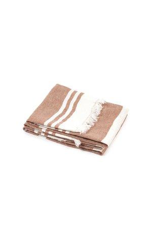 Libeco The Belgian towel - fouta - desert stripe