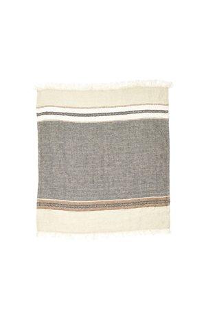 Libeco The Belgian towel - small fouta - beeswax stripe