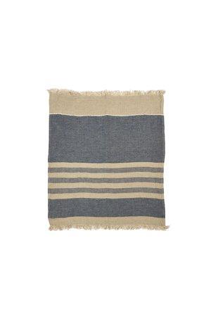 Libeco The Belgian towel - small fouta - sea stripe