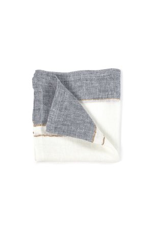 Libeco West hinder napkin - bastion stripe