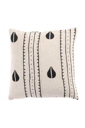 Bogolan cushion  - Seeds - Mali