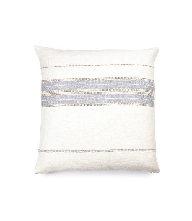 Propriano deco cushion - multi stripe