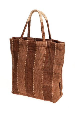 The Dharma Door Jute shopper - tannin