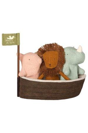 Maileg Noah`s ark with 3 mini animals