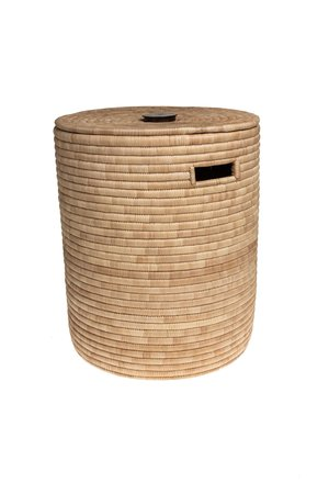 Laundry basket palm - naturel