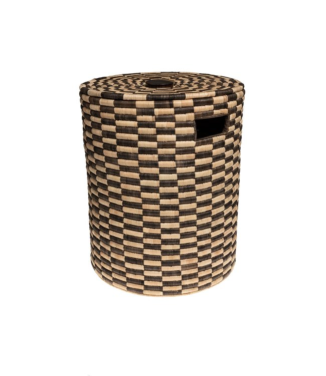 Laundry basket palm - pattern