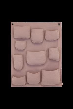 Numero 74 Wall pocket - dusty pink