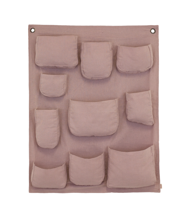 Numero 74 Wall pocket - dusty pink