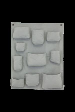 Numero 74 Wall pocket - silver grey