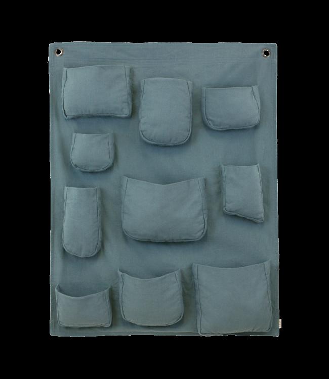 Numero 74 Wall pocket - ice blue