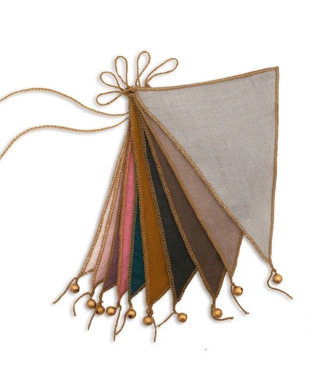 Numero 74 Bunting garland - multicolor