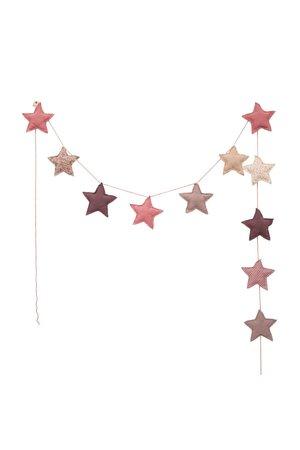 Numero 74 Mini star garland - mix pink