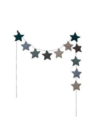 Numero 74 Mini star garland - mix blue