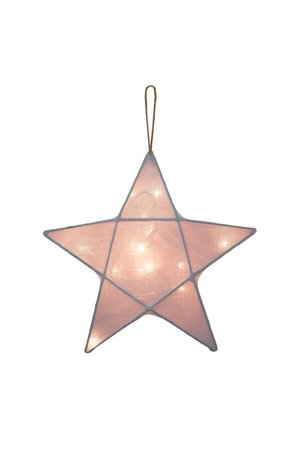 Numero 74 Star lantern medium - dusty pink