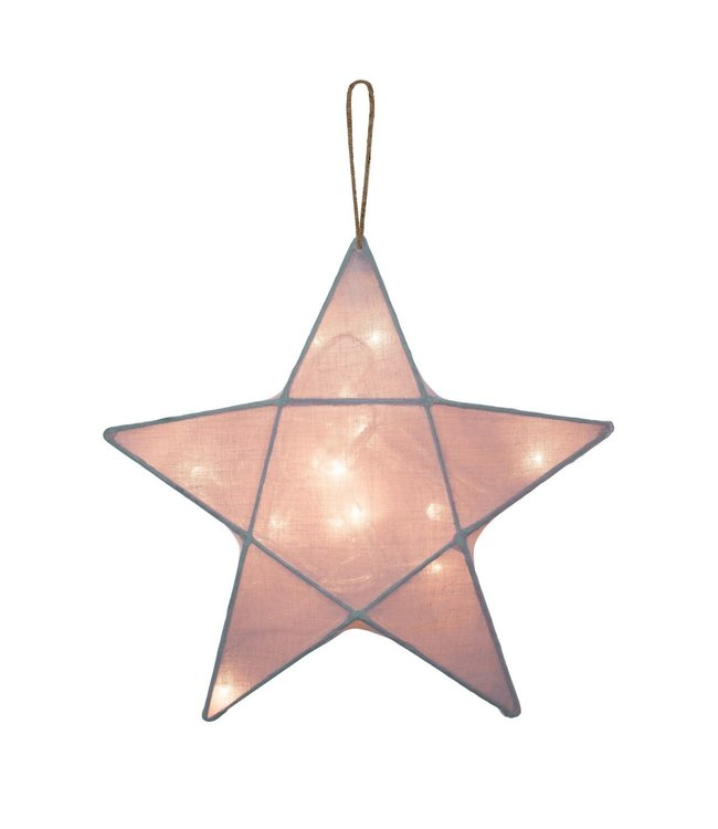 Numero 74 Star lantern medium- dusty pink
