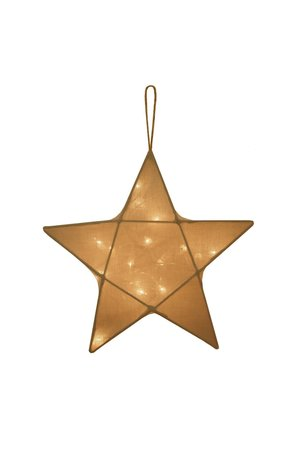 Numero 74 Star lantern medium - gold