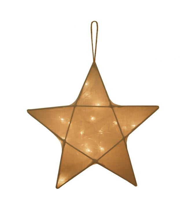 Numero 74 Ster lantaarn medium- gold